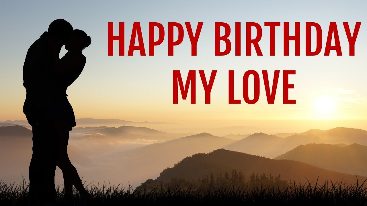 Best ideas about Happy Birthday My Love Quotes For Him . Save or Pin Birthday Wishes for Husband lover BF for him Happy Now.