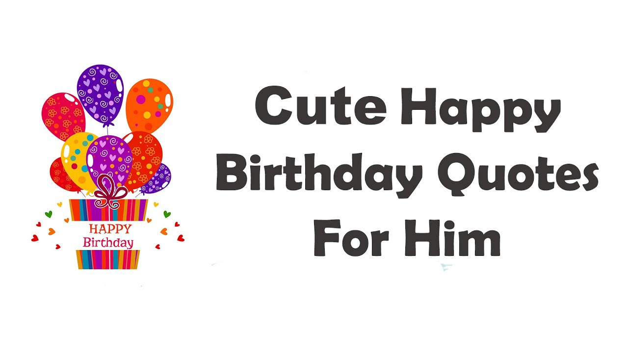 Best ideas about Happy Birthday My Love Quotes For Him . Save or Pin Happy Birthday Quotes For Boyfriend or Husband With Love Now.