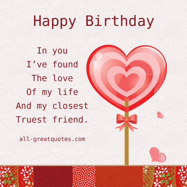 Best ideas about Happy Birthday My Love Quotes For Him . Save or Pin I Found The Love My Life Quotes QuotesGram Now.