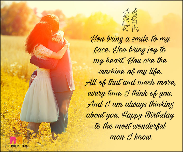 Best ideas about Happy Birthday My Love Quotes For Him . Save or Pin Birthday Love Quotes For Him The Special Man In Your Life Now.