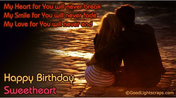 Best ideas about Happy Birthday My Love Quotes For Him . Save or Pin Romantic birthday scraps greetings and cards happy Now.