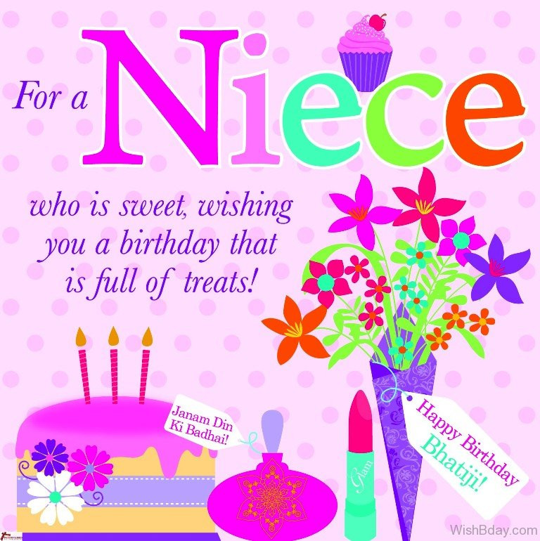 Best ideas about Happy Birthday Niece Images And Quotes . Save or Pin 46 Birthday Wishes For Niece Now.