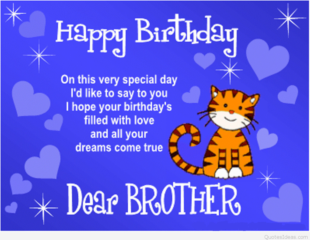 Best ideas about Happy Birthday Picture Quotes . Save or Pin Happy birthday brothers in law quotes cards sayings Now.