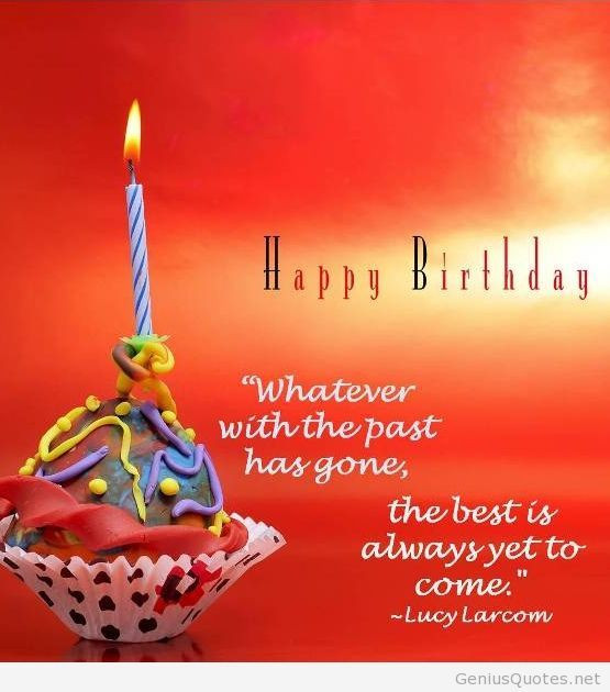 Best ideas about Happy Birthday Picture Quotes . Save or Pin Happy Birthday quote card on a walpaper Now.