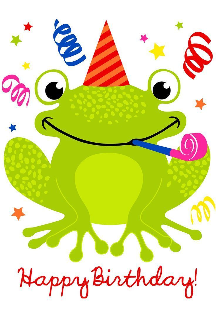 Best ideas about Happy Birthday Picture Quotes . Save or Pin Cute Happy Birthday Frog Birthday fun Now.
