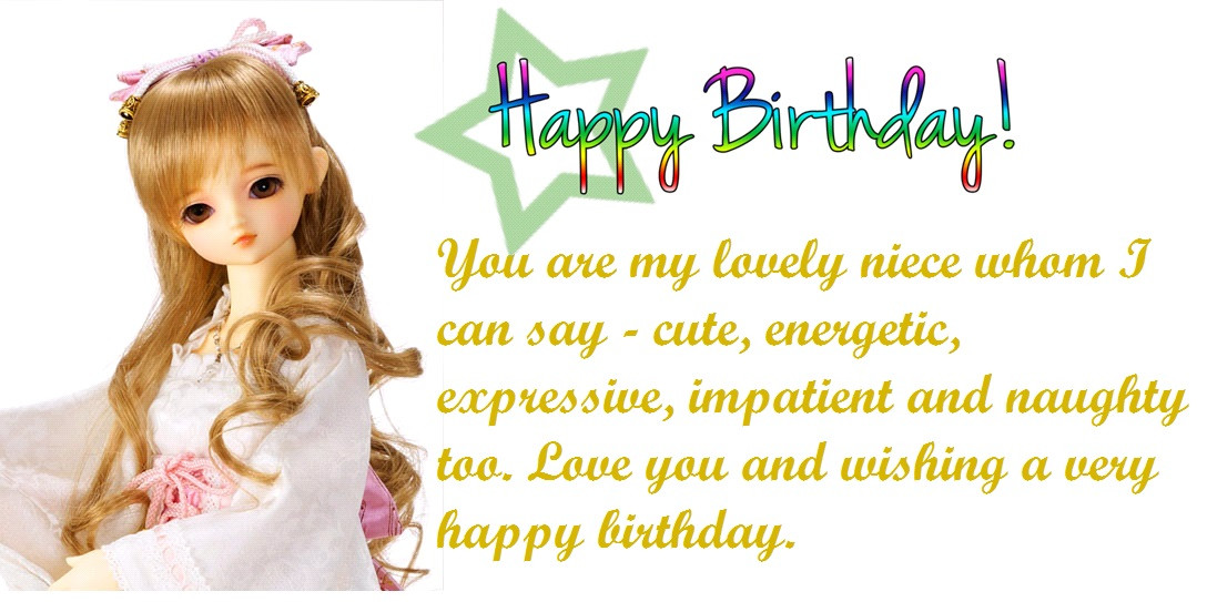 Best ideas about Happy Birthday Quote For Niece . Save or Pin 50 Niece Birthday Quotes and Now.