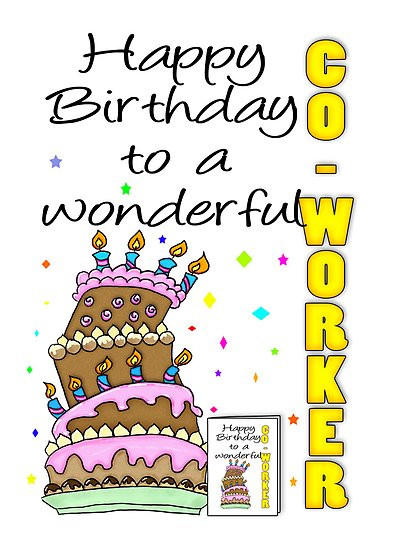 Best ideas about Happy Birthday Quotes For Coworker . Save or Pin Funny Co Worker Birthday Quotes QuotesGram Now.