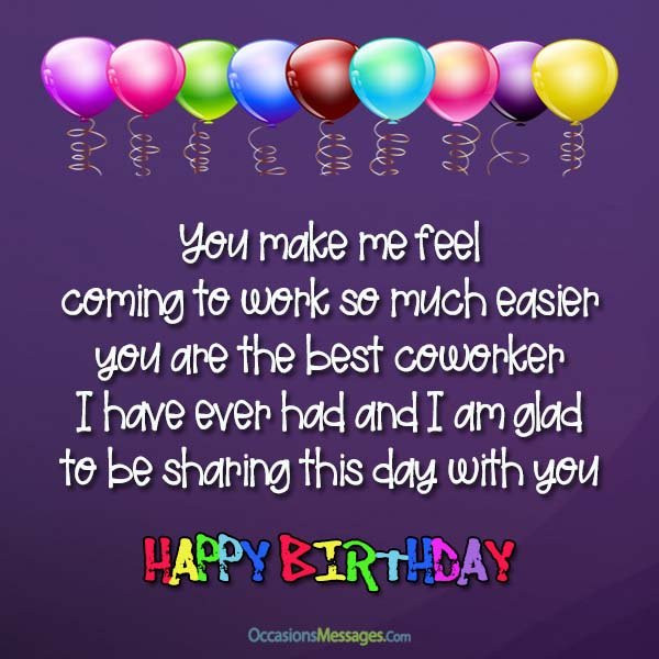 Best ideas about Happy Birthday Quotes For Coworker . Save or Pin Top 100 Birthday Wishes for Coworker Occasions Messages Now.
