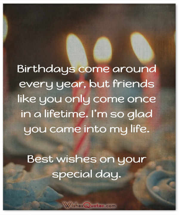Best ideas about Happy Birthday Quotes For Friends . Save or Pin Happy Birthday Friend 100 Amazing Birthday Wishes for Now.