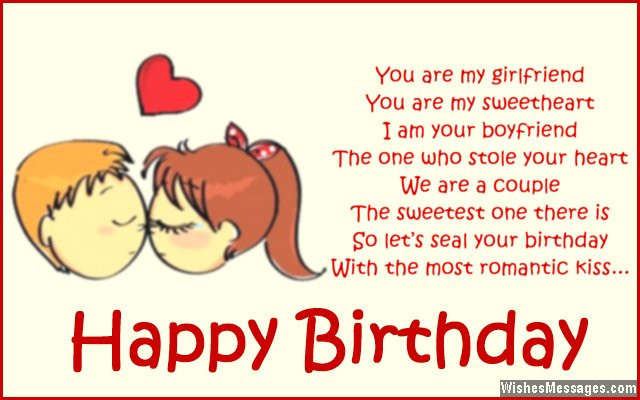 Best ideas about Happy Birthday Quotes For Girlfriend . Save or Pin Birthday Poems for Girlfriend – WishesMessages Now.