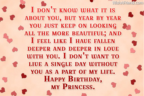 Best ideas about Happy Birthday Quotes For Girlfriend . Save or Pin Birthday Wishes For Girlfriend Now.