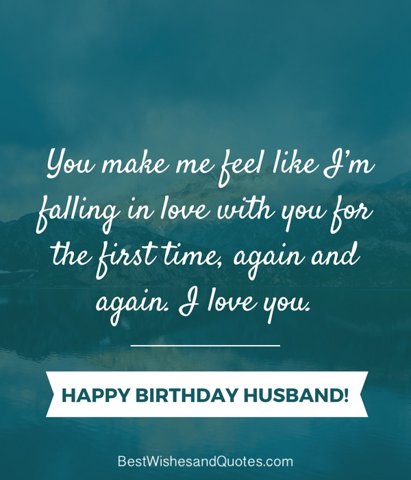 Best ideas about Happy Birthday Quotes For Husband . Save or Pin Happy Birthday Husband 30 Romantic Quotes and Birthday Now.