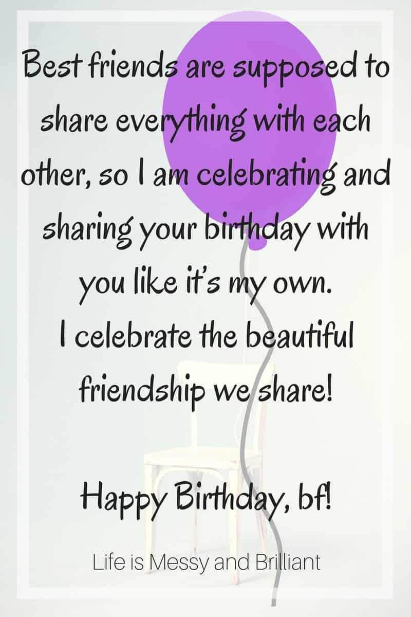 Best ideas about Happy Birthday Quotes For Your Best Friend . Save or Pin Quote & Special Message Now.