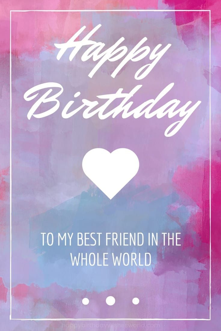 Best ideas about Happy Birthday Quotes For Your Best Friend . Save or Pin Best 25 Happy birthday best friend ideas on Pinterest Now.