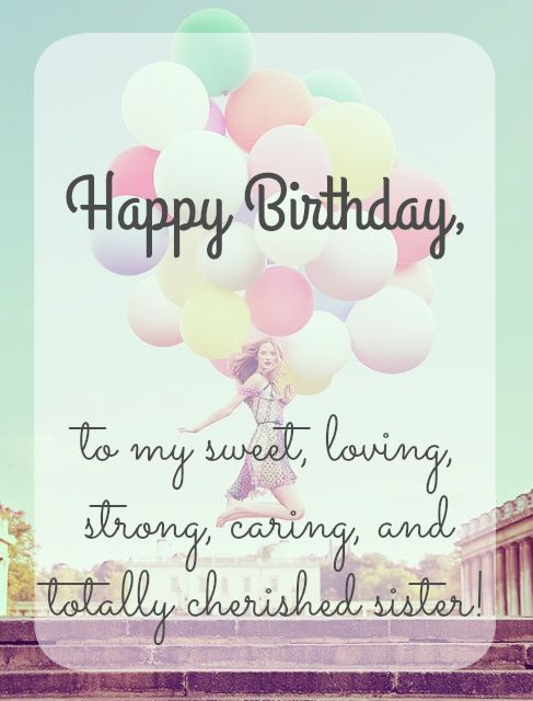 Best ideas about Happy Birthday Sister Quotes . Save or Pin Best 25 Happy birthday sister ideas on Pinterest Now.