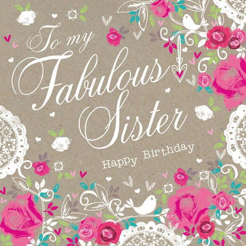 Best ideas about Happy Birthday Sister Quotes . Save or Pin HAPPY BIRTHDAY SISTER Image King Now.