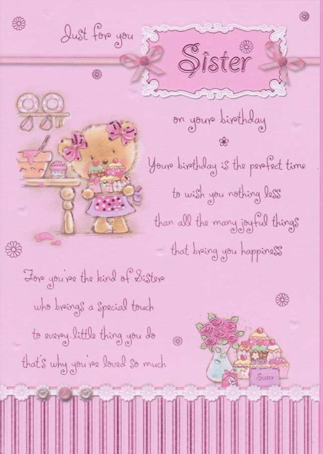Best ideas about Happy Birthday Sister Quotes . Save or Pin Best Birthday wishes for a Sister – StudentsChillOut Now.