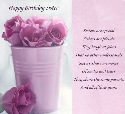 Best ideas about Happy Birthday Sister Quotes . Save or Pin Best happy birthday to my sister quotes – StudentsChillOut Now.