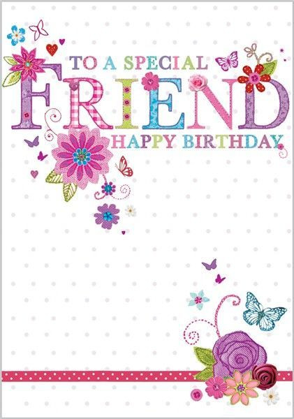 Best ideas about Happy Birthday Special Friend Quotes . Save or Pin birthday images for friend Google Search Now.