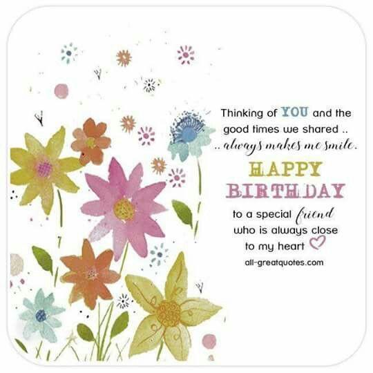 Best ideas about Happy Birthday Special Friend Quotes . Save or Pin Special friend Happy Birthday Happy Birthday Now.