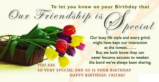 Best ideas about Happy Birthday Special Friend Quotes . Save or Pin 45 Beautiful Birthday Wishes For Your Friend Now.