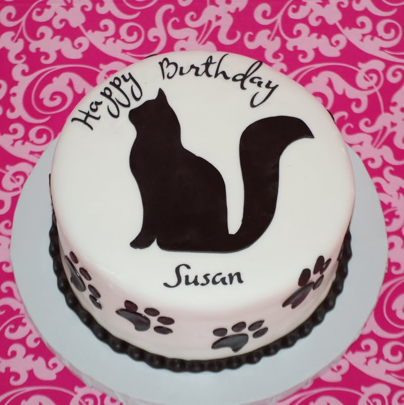 Best ideas about Happy Birthday Susan Cake . Save or Pin CakeFilley Cat Cake Now.