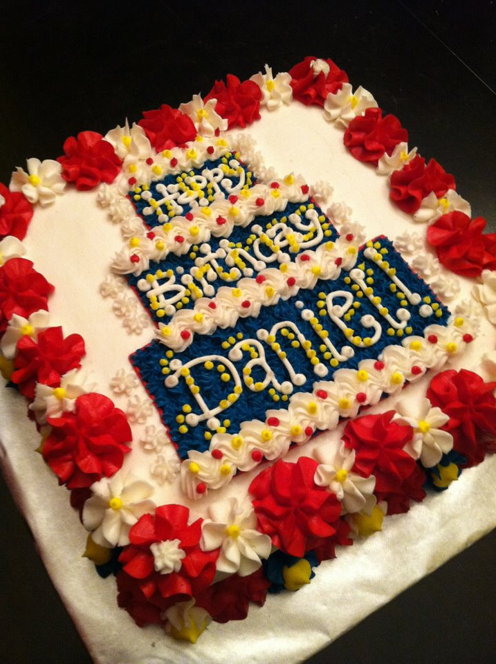Best ideas about Happy Birthday Susan Cake . Save or Pin What I Learned from Daniel The Blog Daniel s Now.