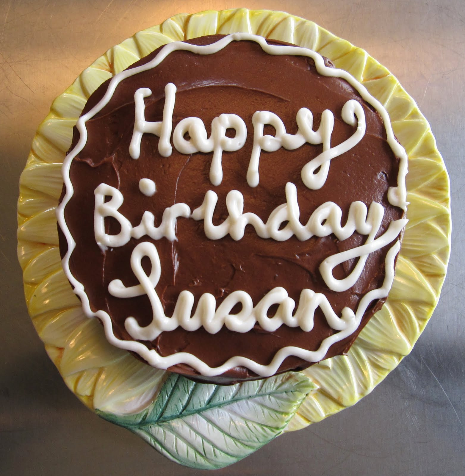"""Best ideas about Happy Birthday Susan Cake . Save or Pin small works in wool """"All the world is birthday cake so Now."""