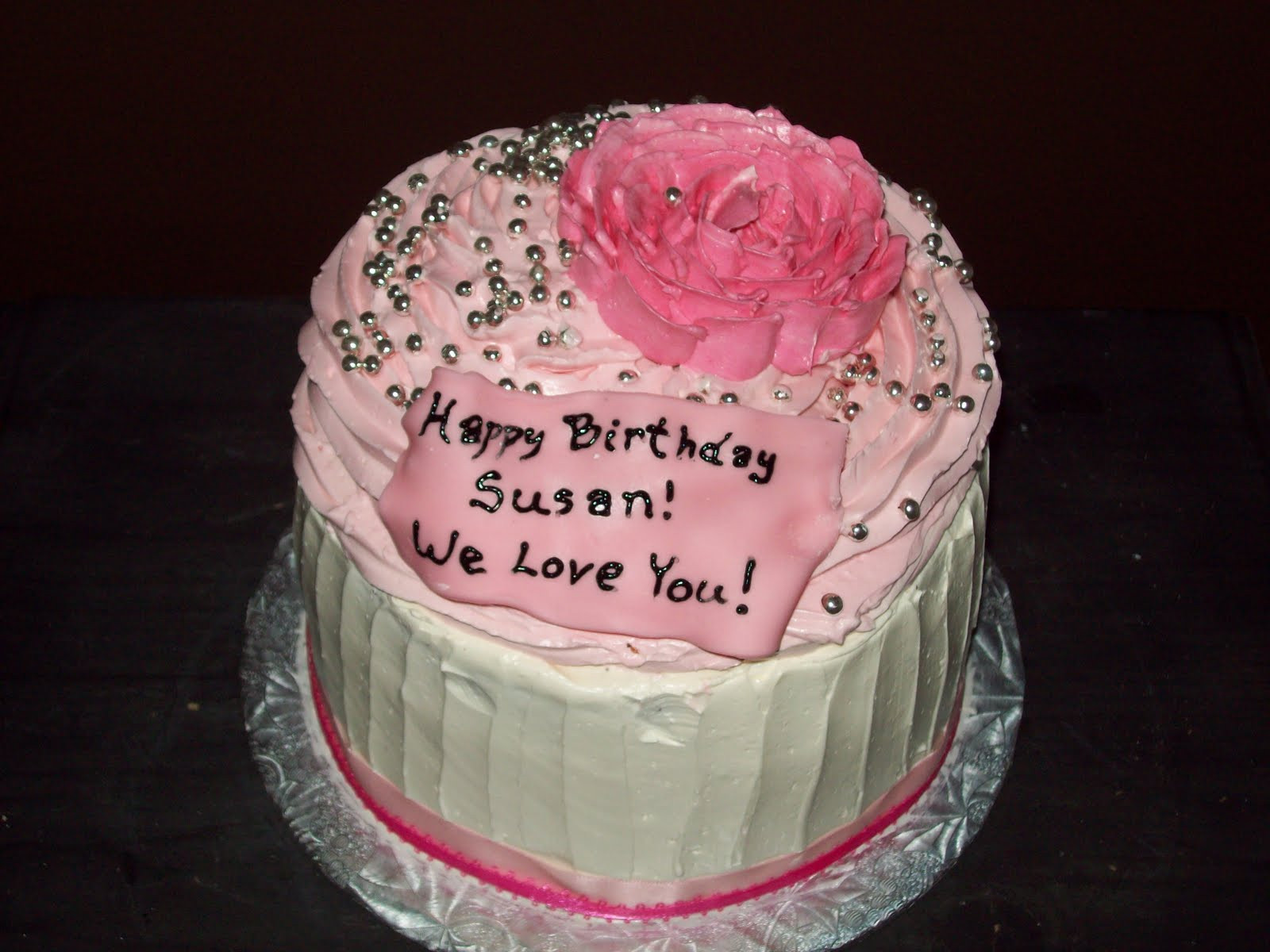 Best ideas about Happy Birthday Susan Cake . Save or Pin Free Embroidery Designs Cute Embroidery Designs Now.