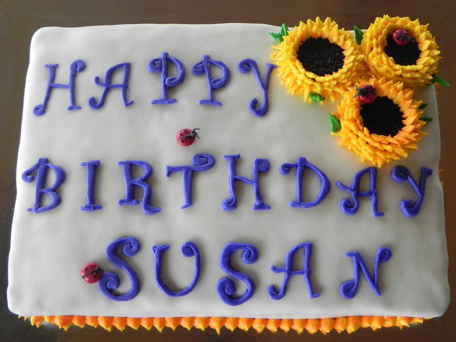 Best ideas about Happy Birthday Susan Cake . Save or Pin Happy Birthday Susan CakeCentral Now.