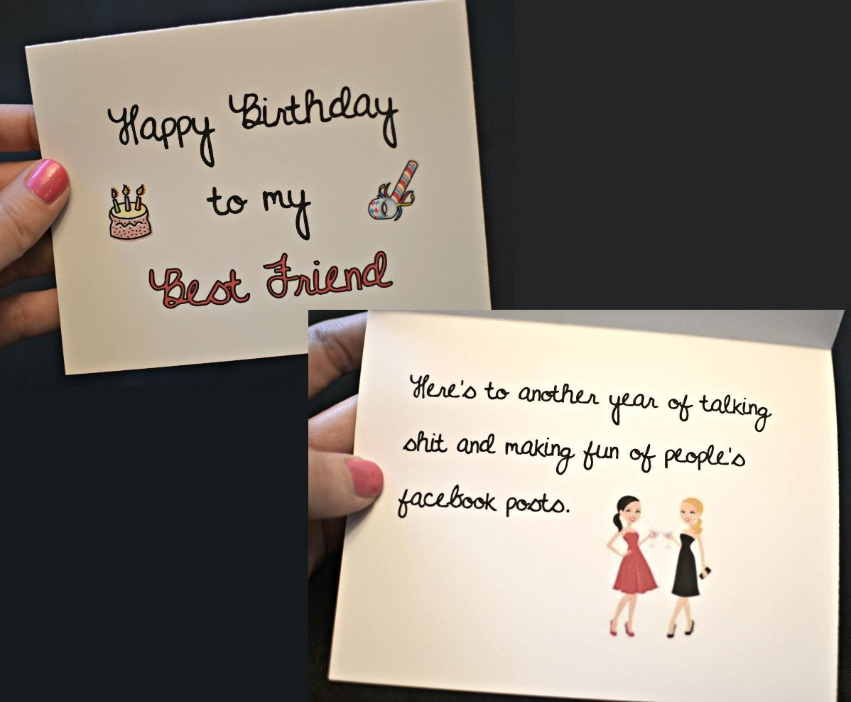 Best ideas about Happy Birthday To Friend Funny . Save or Pin Happy Birthday to my Best Friend Birthday Card funny Now.