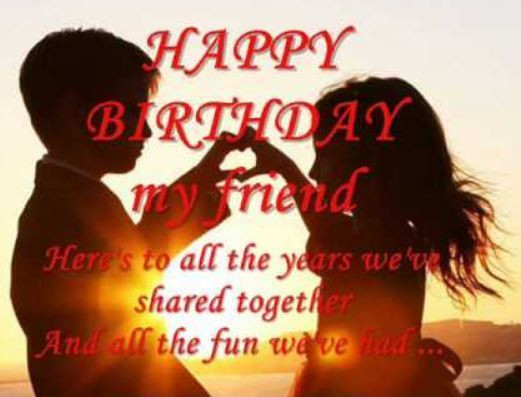 Best ideas about Happy Birthday To Friend Funny . Save or Pin 107 Awesome Best Friend Happy birthday Wishes Greetings Now.