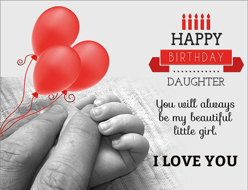 Best ideas about Happy Birthday To My Beautiful Daughter Quotes . Save or Pin Happy Birthday Daughter From Mom Quotes Messages And Wishes Now.