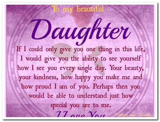 Best ideas about Happy Birthday To My Beautiful Daughter Quotes . Save or Pin Happy Birthday To My Beautiful Daughter Now.