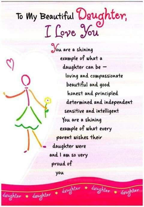Best ideas about Happy Birthday To My Beautiful Daughter Quotes . Save or Pin To my beautiful daughter Now.