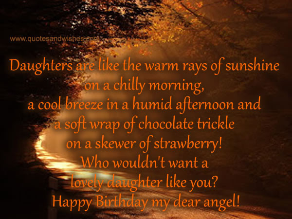 Best ideas about Happy Birthday To My Beautiful Daughter Quotes . Save or Pin Happy Birthday My Beautiful Daughter Quotes QuotesGram Now.