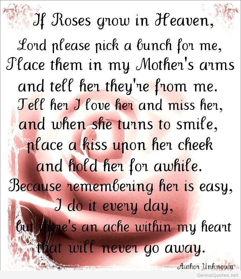 Best ideas about Happy Birthday To My Mom In Heaven Quotes . Save or Pin HAPPY BIRTHDAY QUOTES FOR MY MOM IN HEAVEN image quotes at Now.