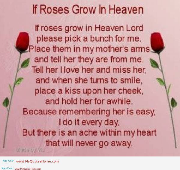 Best ideas about Happy Birthday To My Mom In Heaven Quotes . Save or Pin 1000 images about mom on Pinterest Now.