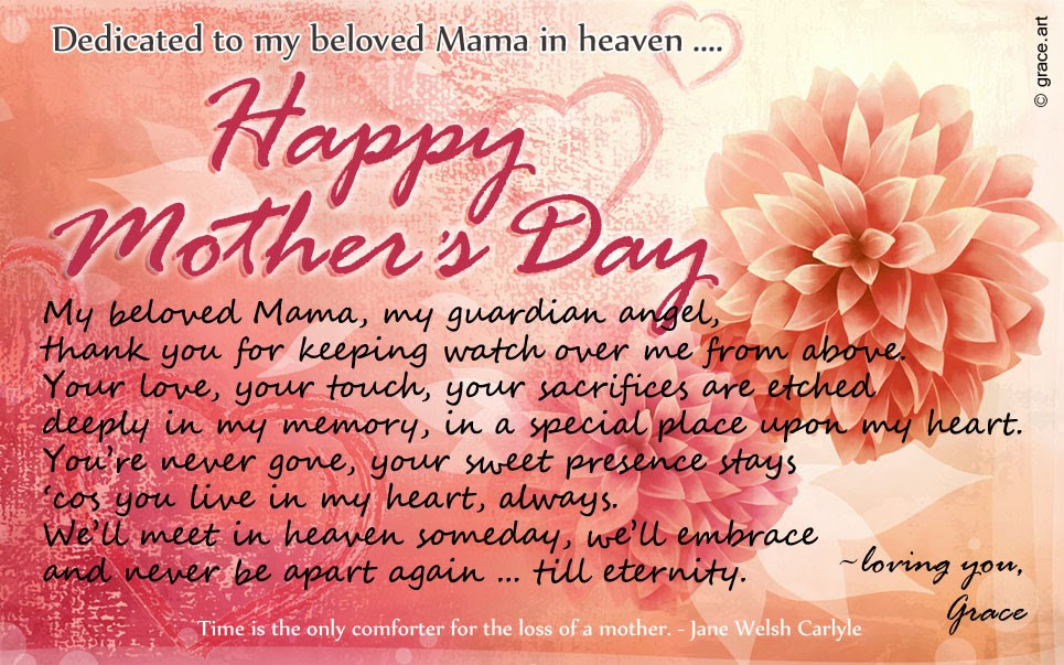 Best ideas about Happy Birthday To My Mom In Heaven Quotes . Save or Pin graceawakening To my beloved Mama in heaven Now.