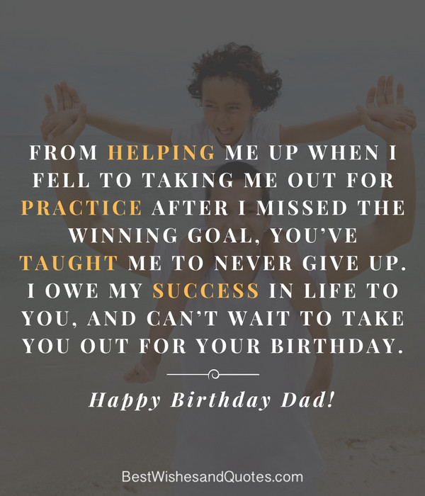 Best ideas about Happy Birthday To Someone Who Passed Away Quotes . Save or Pin Happy Birthday Dad 40 Quotes to Wish Your Dad the Best Now.