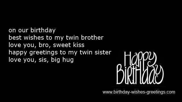 20 Best Happy Birthday Twins Quotes - Best Collections Ever ...