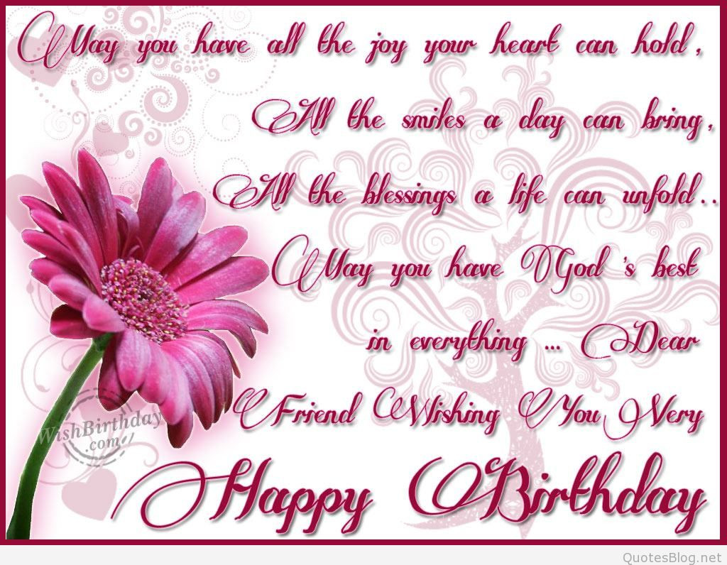 Best ideas about Happy Birthday Wishes For A Friend . Save or Pin Happy birthday friends wishes Now.