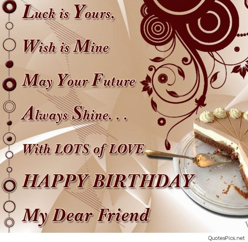 Best ideas about Happy Birthday Wishes For Best Friend . Save or Pin Best happy birthday card wishes friend friends sayings Now.