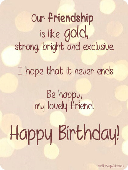 Best ideas about Happy Birthday Wishes For Best Friend . Save or Pin Happy Birthday Bestie Now.