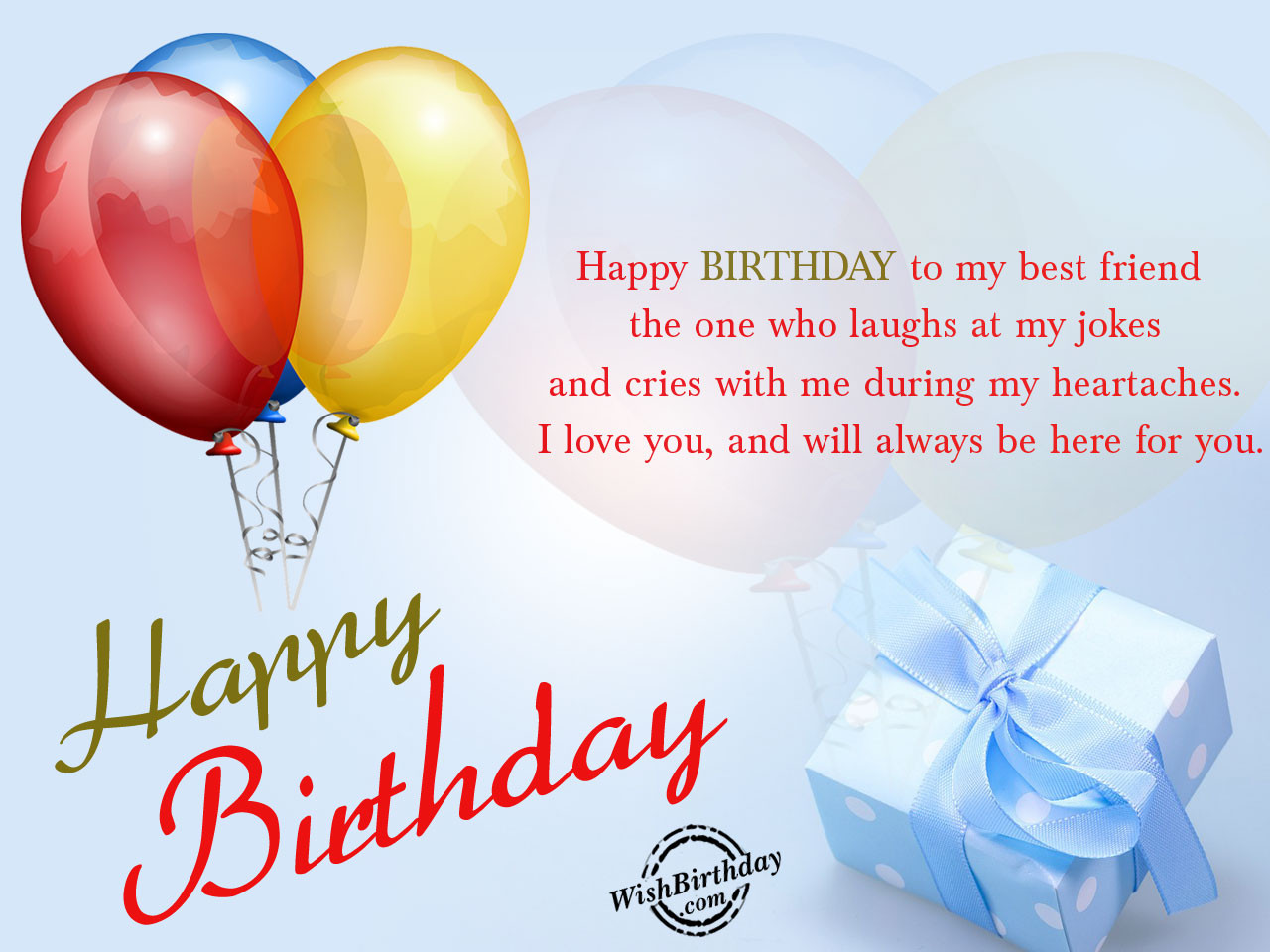 Best ideas about Happy Birthday Wishes For Best Friend . Save or Pin Birthday Wishes For Best Friend Birthday Now.