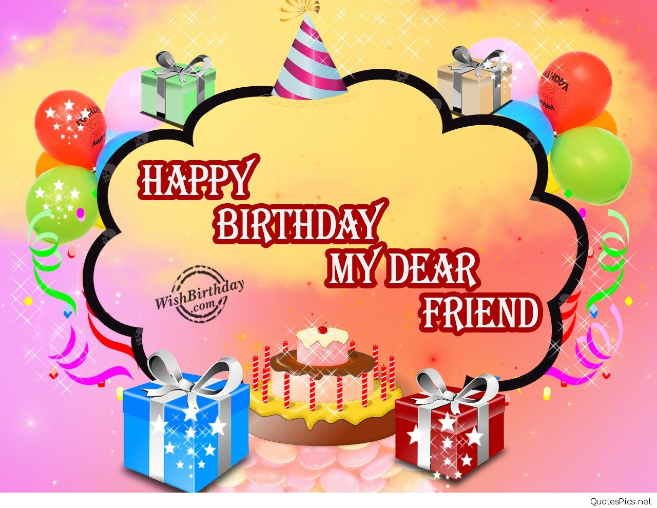 Best ideas about Happy Birthday Wishes For Best Friend . Save or Pin Best birthday wishes for friend friends with cards Now.