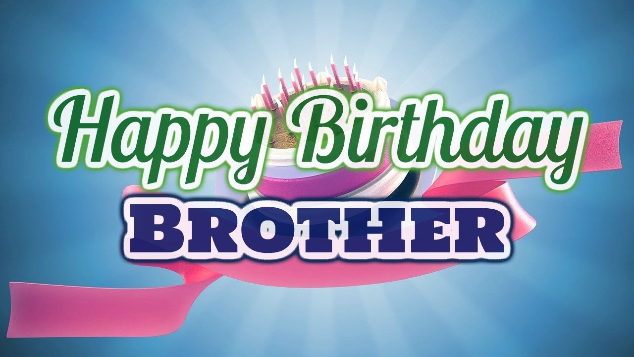 Best ideas about Happy Birthday Wishes For Brother . Save or Pin Happy Birthday Wishes for Brother Now.