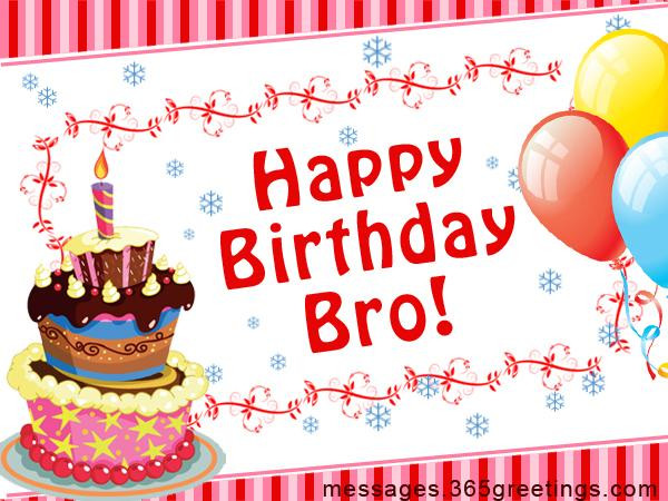 Best ideas about Happy Birthday Wishes For Brother . Save or Pin Birthday Wishes for Brother 365greetings Now.