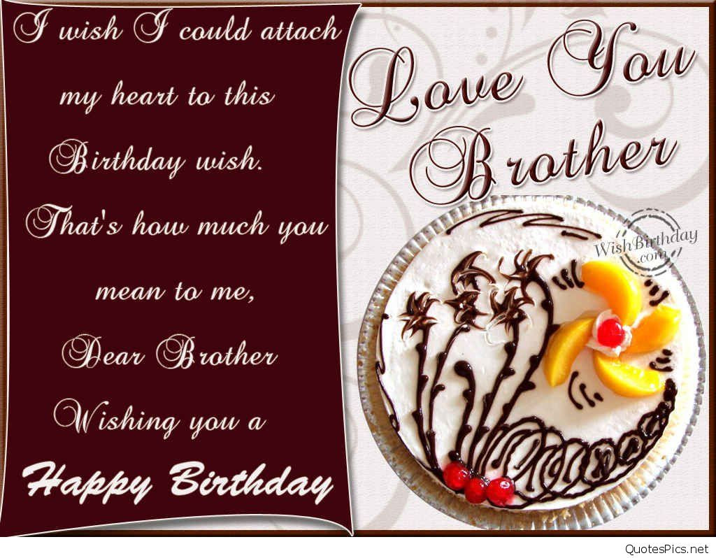Best ideas about Happy Birthday Wishes For Brother . Save or Pin The 50 Happy Birthday Brother Wishes quotes and messages Now.