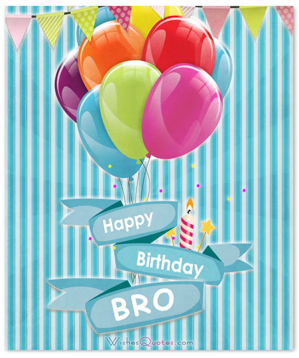 Best ideas about Happy Birthday Wishes For Brother . Save or Pin Happy Birthday Brother 100 Brother s Birthday Wishes Now.